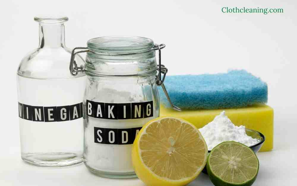 how to clean a washing machine with baking soda