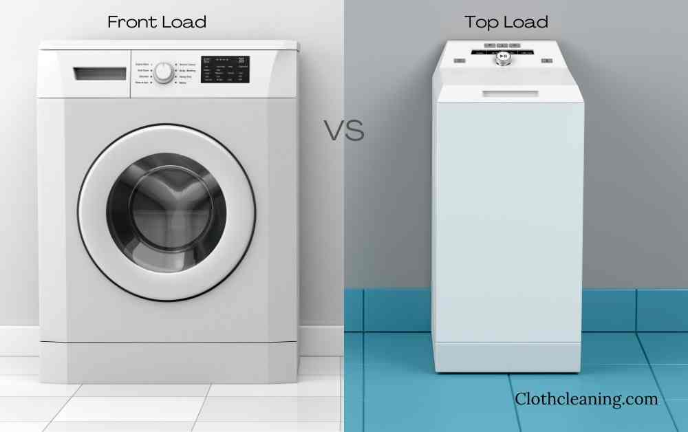 Front or top load washing machine is better