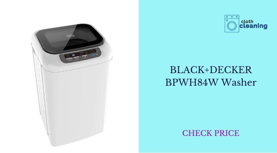 BLACK+DECKER BPWH84W Washer Portable Laundry