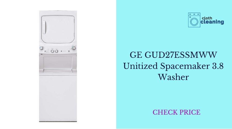 GE GUD27ESSMWW Unitized Spacemaker 3.8 Washer