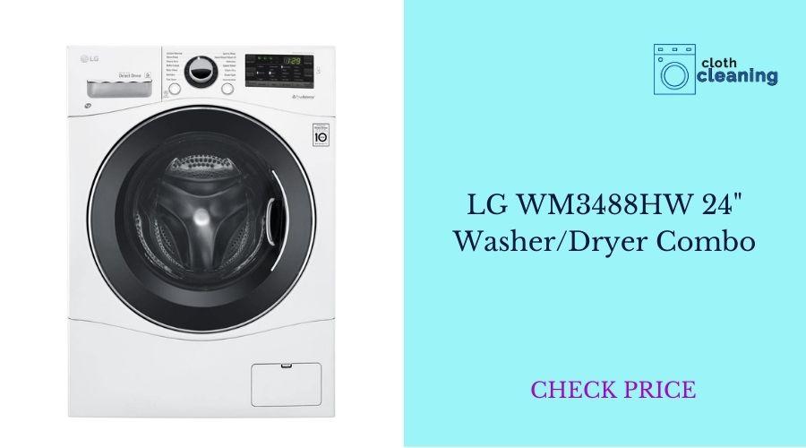 "LG WM3488HW 24"" Washer/Dryer Combo"