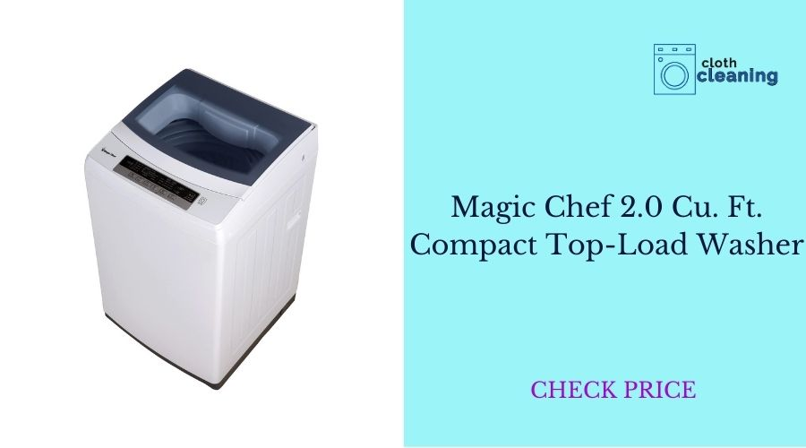 Magic ched top load washer