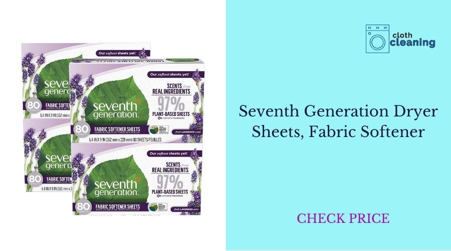 -Seventh Generation Dryer Sheets