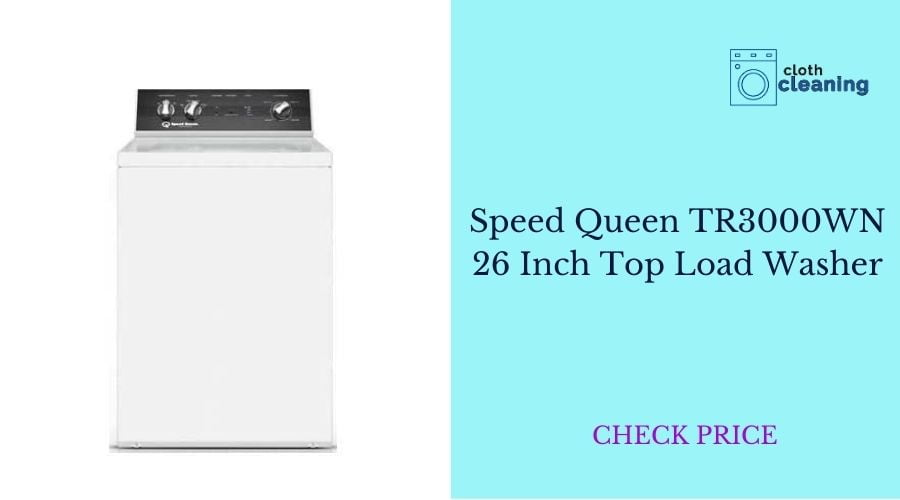 Speed Queen TR3000WN 26 Inch Top Load Washer