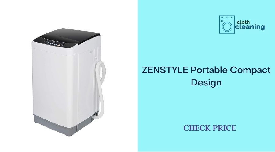 ZENSTYLE Portable Compact Design Multifunctional Laundry Washer/Spinner