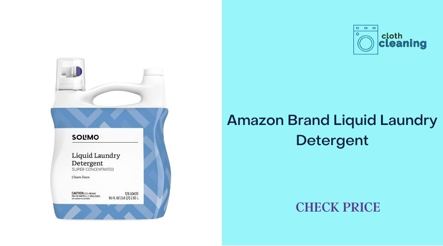 Amazon Brand - Solimo Concentrated Liquid Laundry Detergent