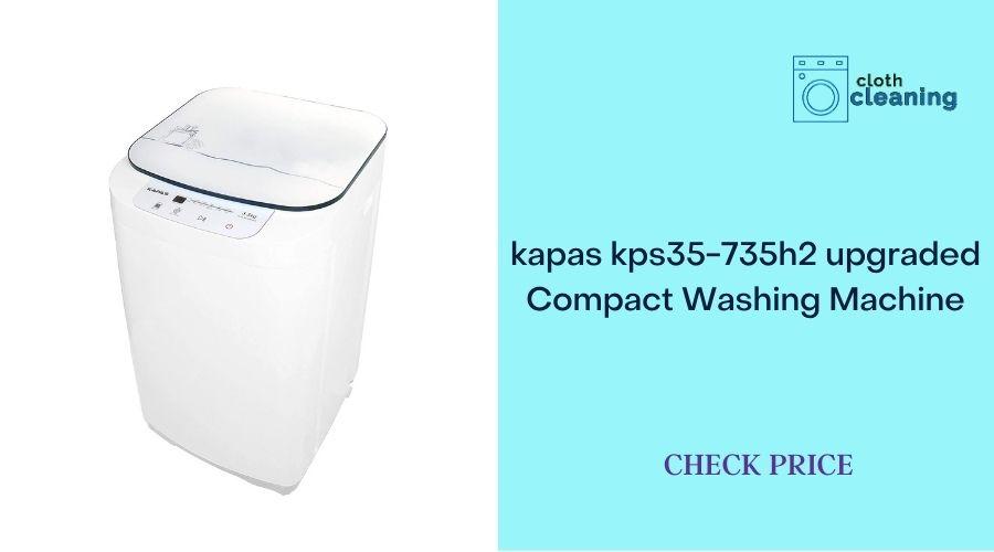 Kapas kps35-735h2 Upgraded Compact Washing Machine
