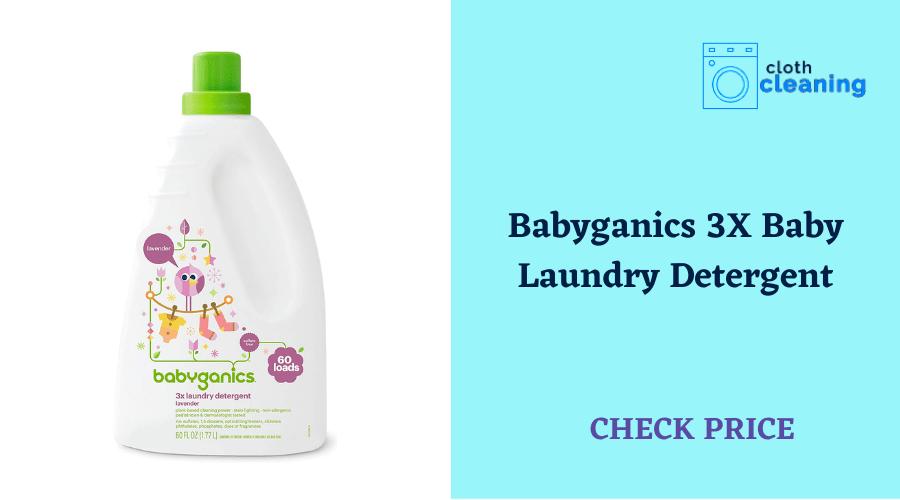 Babyganics 3X Baby Laundry Detergent, Lavender