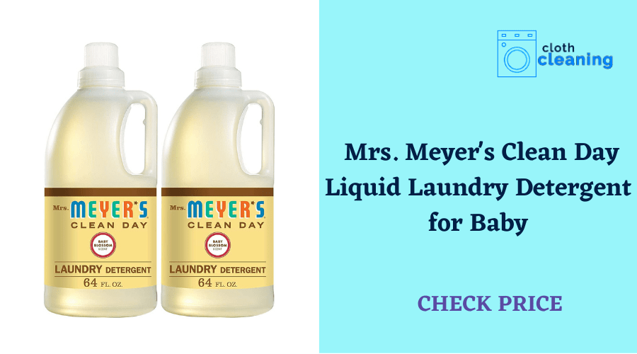 Mrs. Meyer's Clean Day Liquid Laundry Detergent for Baby
