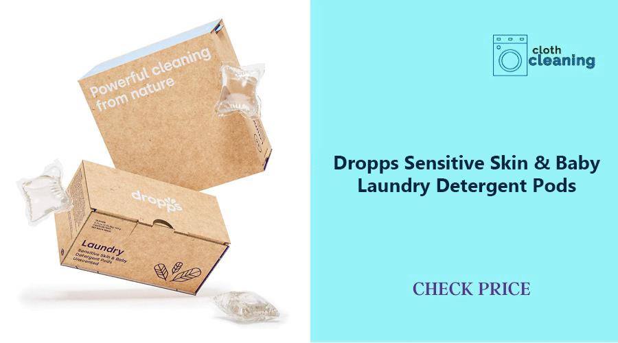 Dropps Sensitive Skin & Baby Laundry Detergent Pods